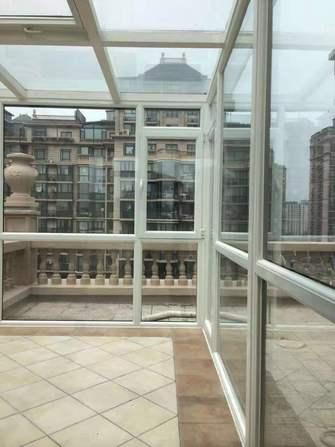 120平米三室三厅欧式风格阳光房效果图