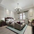 富裕型140平米复式美式风格卧室设计图
