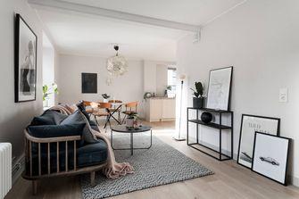 富裕型120平米三混搭风格客厅装修案例