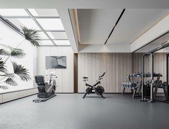 140平米三室两厅现代简约风格健身房设计图