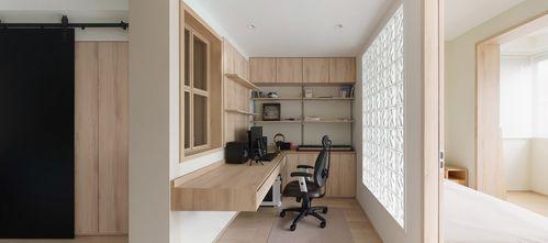 40平米小户型日式风格书房装修案例