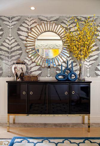 20万以上140平米四新古典风格客厅设计图