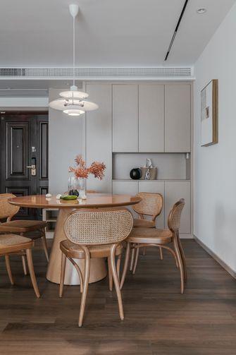 富裕型120平米三室两厅法式风格餐厅装修效果图