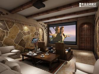 20万以上140平米别墅地中海风格影音室欣赏图