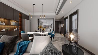 15-20万90平米三室两厅混搭风格餐厅设计图