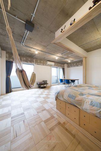 120平米三工业风风格客厅装修图片大全