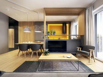 富裕型120平米三室一厅北欧风格客厅图片