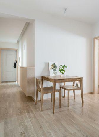 经济型60平米三室两厅日式风格餐厅装修案例
