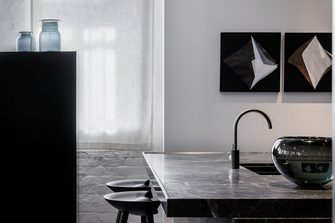富裕型60平米一室一厅现代简约风格厨房效果图