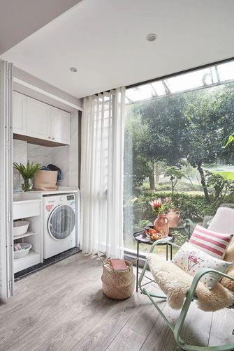 经济型70平米三室一厅现代简约风格阳台图