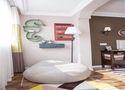 富裕型三室一厅美式风格阳台装修图片大全