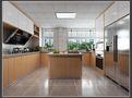 130平米三室三厅北欧风格客厅图