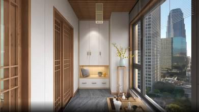 70平米日式风格阳台欣赏图