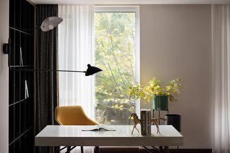 豪华型80平米美式风格书房图片