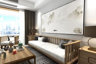 5-10万130平米三室两厅中式风格客厅效果图