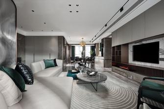 富裕型140平米四室四厅现代简约风格客厅装修图片大全
