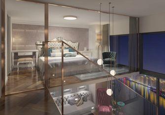 60平米复式新古典风格卧室装修图片大全