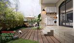 豪华型140平米别墅中式风格走廊图