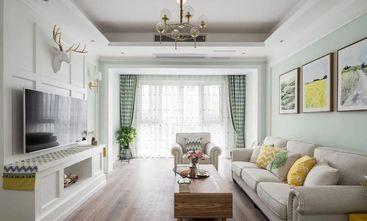 富裕型70平米田园风格客厅装修效果图