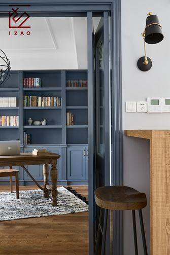 20万以上140平米三室两厅北欧风格书房效果图