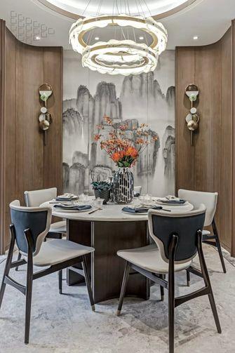 豪华型140平米四室一厅中式风格餐厅效果图