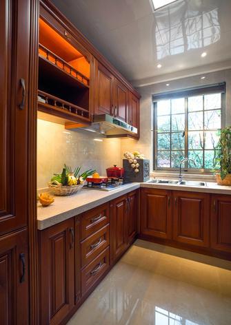 20万以上140平米欧式风格厨房设计图