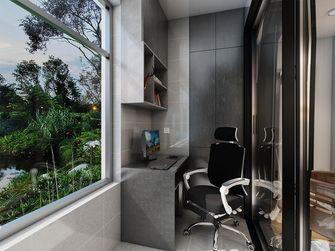 120平米三室一厅轻奢风格阳台效果图