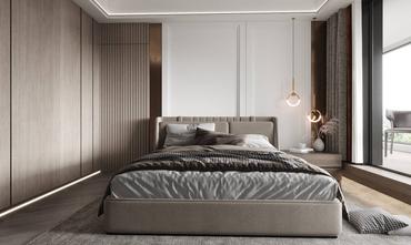 豪华型130平米三室两厅港式风格卧室设计图