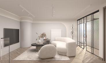 经济型70平米公寓轻奢风格客厅装修图片大全