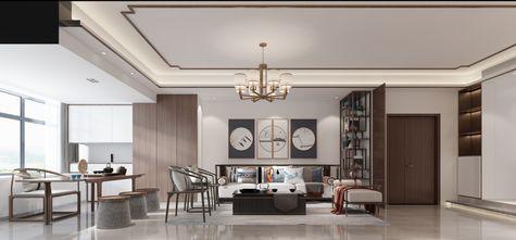 10-15万110平米三室一厅中式风格餐厅图片