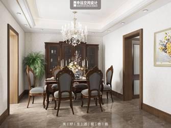 豪华型140平米别墅欧式风格餐厅图片大全