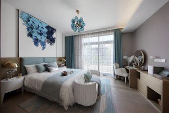 20万以上110平米三室一厅中式风格卧室设计图
