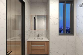 50平米一室两厅日式风格卫生间图片