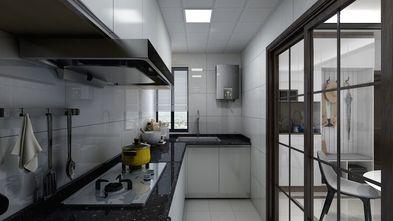 富裕型90平米三室两厅混搭风格厨房图