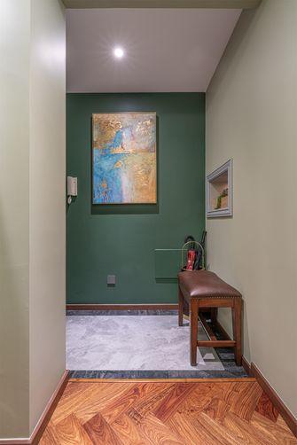 富裕型50平米一室一厅美式风格玄关欣赏图