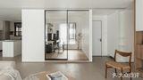豪华型120平米三室两厅现代简约风格阳光房设计图