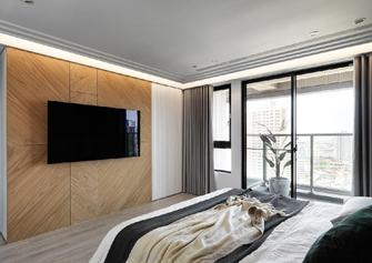 经济型80平米一室一厅现代简约风格卧室装修图片大全