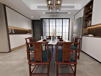 110平米三中式风格餐厅装修图片大全