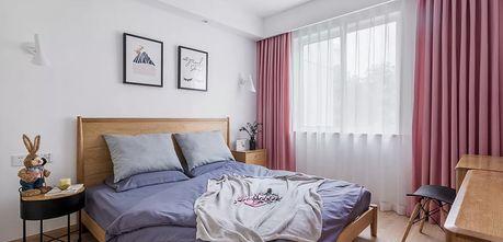 经济型90平米三北欧风格卧室装修图片大全