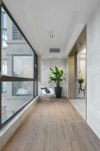 140平米四室一厅现代简约风格阳台装修效果图