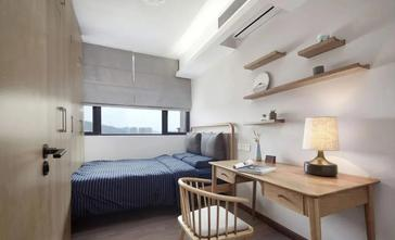 5-10万90平米三室一厅日式风格卧室装修图片大全