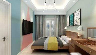 经济型50平米一居室北欧风格卧室效果图