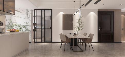 豪华型120平米三现代简约风格餐厅装修效果图