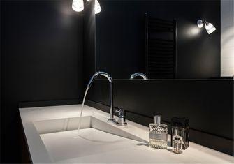 富裕型50平米一室一厅现代简约风格卫生间装修效果图