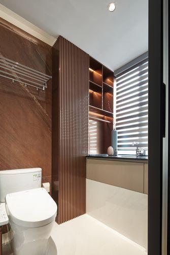 140平米三现代简约风格卫生间欣赏图
