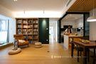 富裕型90平米三室两厅日式风格客厅图片