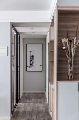 富裕型110平米三室一厅北欧风格走廊装修案例