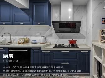 富裕型三室三厅美式风格厨房装修图片大全