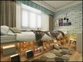 豪华型140平米别墅中式风格青少年房欣赏图