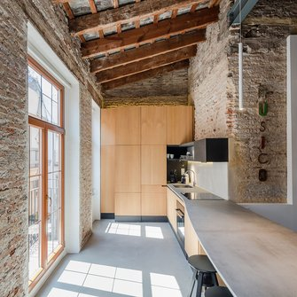 经济型100平米三室一厅工业风风格客厅装修效果图